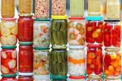 Vegetais da salmoura Imagens de Stock Royalty Free
