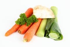 Vegetais da sopa Imagens de Stock
