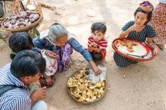 Vegetais de Myanmar Imagem de Stock