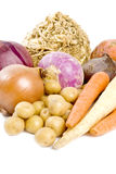 Vegetais de raiz Foto de Stock