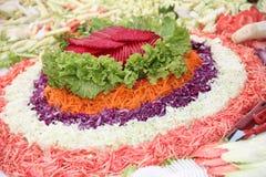 Vegetais de salada Imagens de Stock Royalty Free