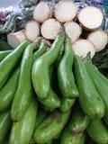 Vegetais de Tha Fotografia de Stock Royalty Free