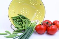 Vegetais derramados Fotos de Stock