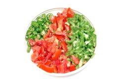 Vegetais desbastados Imagens de Stock Royalty Free
