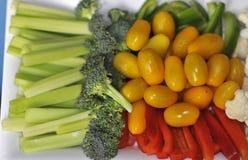 Vegetais desbastados Imagem de Stock Royalty Free