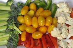 Vegetais desbastados Fotografia de Stock