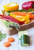 Vegetais desbastados Fotos de Stock