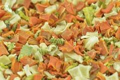 Vegetais desidratados Fotografia de Stock