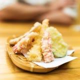 Vegetais diferentes do tempura foto de stock royalty free