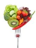 Vegetais do amor foto de stock