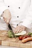 Serie do cozinheiro chefe fotos de stock