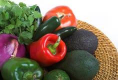 Vegetais do jardim Fotografia de Stock Royalty Free