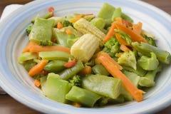 Vegetais do Stir Fotos de Stock Royalty Free