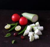 Vegetais do verão indiano imagem de stock