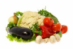 Vegetais e cogumelos Imagens de Stock Royalty Free