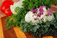 Vegetais e ervas do outono Fotos de Stock Royalty Free