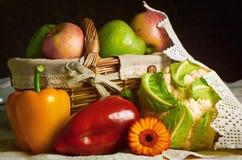 Vegetais e frutas Fotos de Stock Royalty Free