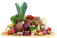 Vegetais e fruto Imagens de Stock