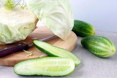 Vegetais ecológicos frescos Imagens de Stock