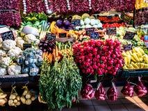 Vegetais em um marcado imagens de stock royalty free
