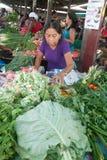 Vegetais em um mercado Fotos de Stock Royalty Free