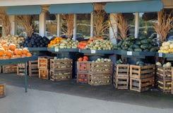 Vegetais em um mercado de produto fresco fotos de stock