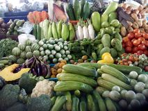 Vegetais exóticos Fotografia de Stock Royalty Free