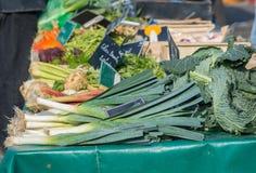 Vegetais franceses do mercado Foto de Stock