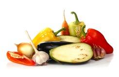 Vegetais frescos e das vitaminas Imagem de Stock Royalty Free