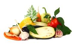 Vegetais frescos e das vitaminas Fotografia de Stock