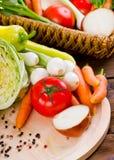 Vegetais frescos, orgânicos Imagem de Stock Royalty Free