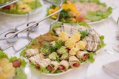 Vegetais fritados Fotografia de Stock Royalty Free