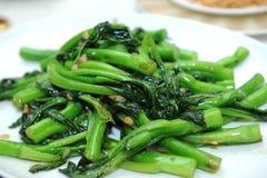Vegetais fritados agitação Fotografia de Stock Royalty Free