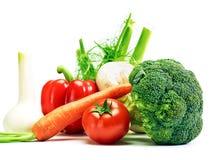 Vegetais genuínos não tratados saudáveis crus Imagens de Stock Royalty Free