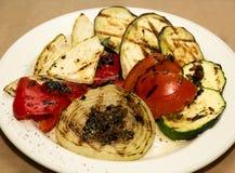 Vegetais grelhados Foto de Stock