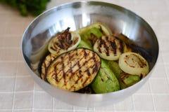 Vegetais grelhados Imagens de Stock Royalty Free