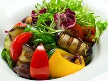 Vegetais grelhados misturados fotografia de stock royalty free
