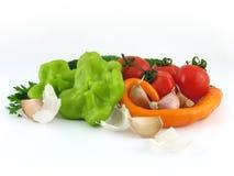 Vegetais isolados Foto de Stock Royalty Free