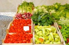 Vegetais italianos Imagens de Stock