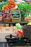 Vegetais locais Foto de Stock
