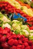 Vegetais maduros para a venda Fotos de Stock Royalty Free