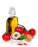 Vegetais mediterrâneos Fotografia de Stock Royalty Free