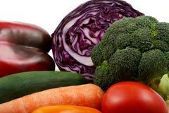 Vegetais misturados fotografia de stock royalty free