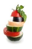 Vegetais misturados Imagens de Stock Royalty Free