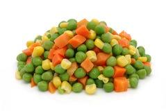 Vegetais misturados congelados Fotos de Stock Royalty Free