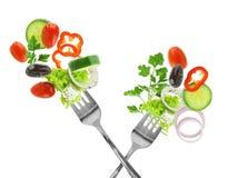 Vegetais misturados frescos imagem de stock royalty free