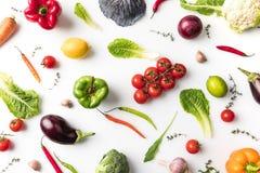 Vegetais não processados Fotos de Stock Royalty Free