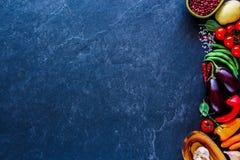 Vegetais não processados frescos Imagem de Stock