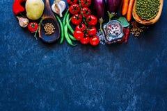 Vegetais não processados frescos Fotos de Stock