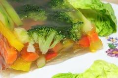 Vegetais na alfazema Imagens de Stock Royalty Free
